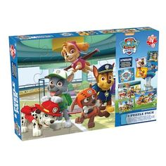 Paw Patrol 8-pk Puzzle by Cardinal Games | null
