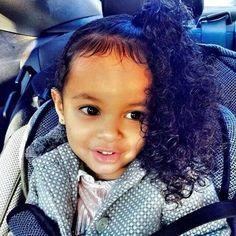 sweet curly cheeks