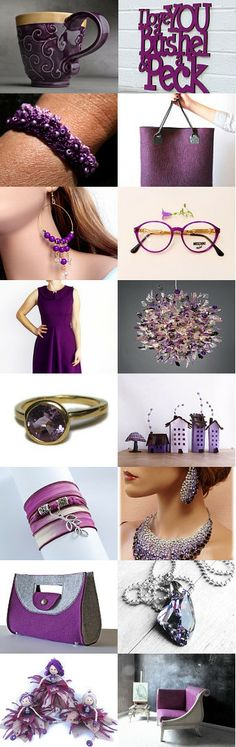 Treasury time ! Purple by bridesrules on Etsy -- https://www.etsy.com/treasury/MTAzODI5OTd8MjcyNjQwNDMwMg/purple