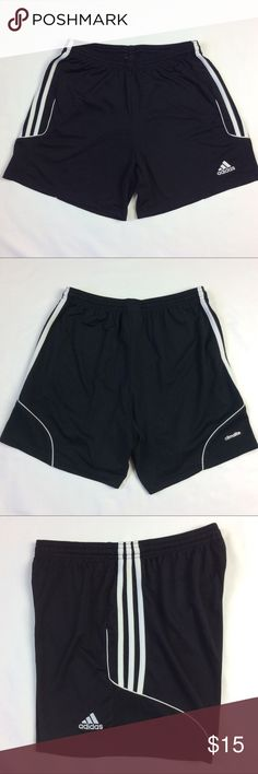 "ADIDAS CLIMALITE Athletic Shorts Flat lay measurements:  waist- 13""  rise- 10""  inseam- 5""  hips- 22"" adidas Shorts"