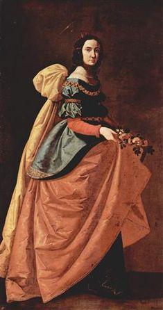 St. Casilda of Toledo - Francisco de Zurbaran 1640
