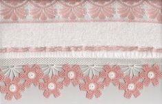 free knitting pattern: free towel edge lace models 2012