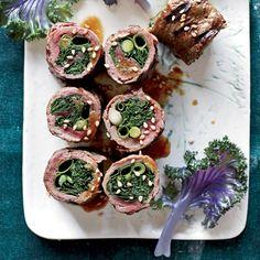 Kale-and-Scallion Negimaki