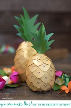 #Pineapple #PartyDecor pattern at www.LiaGriffith.com: