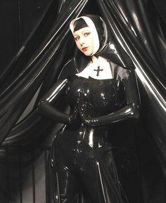 Latex Sexy Nun Bent Over Babes Fetish Sex Blog