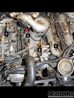 31 mejores im genes de motores navistar 7 3 idi motors truck y trucks rh pinterest com