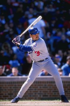 C Mike Piazza, Dodger All-Star 1993 - '97.  MVP in '96.  #VoteDodgers