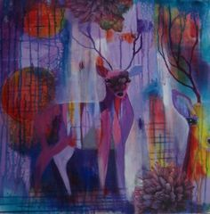 (Deer (purplepink)