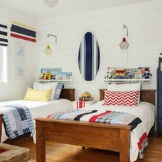 Boys' Bedroom Makeover Reveal