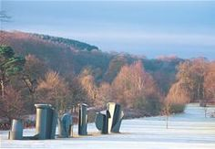 Discover the drama of sculpture in a stunning landscape at the Yorkshire Sculpture Park near Wakefield.