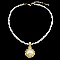 Charming Embellished Faux Pearl Necklace For Women #CLICK! #clothing, #shoes, #jewelry, #women, #men, #hats