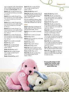 Amigurumi Spring Bunny in Dress Free Crochet Pattern – Amigurumi Crochet Giraffe Crochet, Crochet Bunny Pattern, Crochet Animal Amigurumi, Cute Crochet, Crochet Dolls, Crochet Dog Patterns, Animal Knitting Patterns, Amigurumi Patterns, Stitch Doll