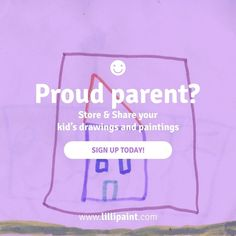 Store & Share your kid's artwork in the largest art community only for lilliputian artists ! :) www.lillipaint.com  #kids #draw #drawings #paintings #share #social Follow Lilli on Instagram @lillipaint