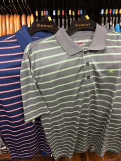 Men's AriatTek Polos for men call today for yours 620.796.2355