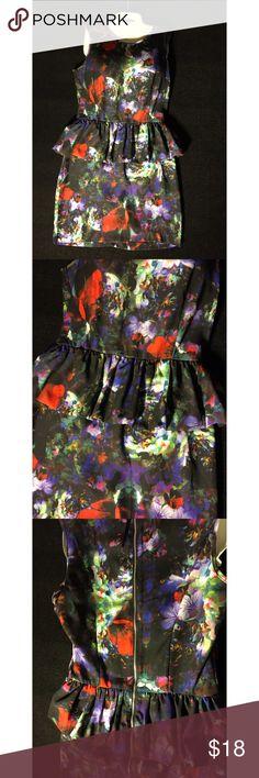 H&M Peplum dress 100% polyester.. Like new H&M Dresses Midi