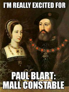 Paul Blart - Mall Constable. Humor, meme.
