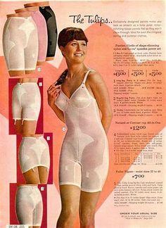 1967 Montgomery Ward Catalog Girdles