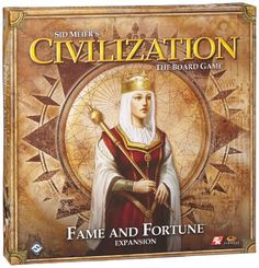 Civilization: Fame and Fortune Expansion - http://howtobefamous.net/civilization-fame-and-fortune-expansion/