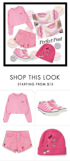 """""""Perfect Pout"""" by phil-dub ❤ liked on Polyvore featuring beauty, Anastasia Beverly Hills, Converse and Miss Selfridge"""