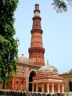 Qubat Minar - Architecture of India - Islamic influence (1586-1857)