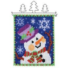 Herrschners® Welcome Snow Beaded Banner Kit