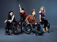 Women in wheelchairs get real in Sundance TV show