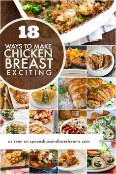 18 Ways to Make Boneless Skinless Chicken Breast Exciting | Spaceships and Laser Beams