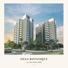 Um residencial de alto padrão que se integra à natureza do bairro nasce esplêndido na região do Granja Olga #OlgaBotanique