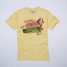 "Humdrum ""Hey Fly Kids"" £10.00 Tees, Mens Tops, T Shirt, Vintage, Design, Fashion, Supreme T Shirt, Moda, T Shirts"