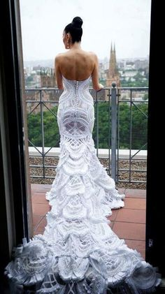 WOW!  That is amazing crochet work.  I can't even fathom this one.
