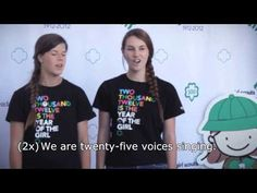 2 - I am One Voice -- Girl Scout Sing-A-Long (+playlist) Daisy Girl Scouts, Girl Scout Troop, Singing Warm Ups, Girl Scout Songs, Brownie Guides, Campfire Songs, Camp Songs, Girl Scout Activities, Girl Scout Camping