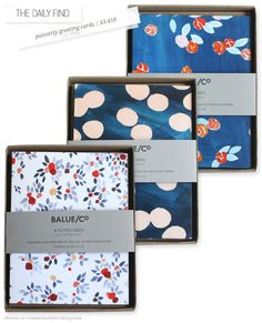 The Daily Find: Painterly Greeting Cards