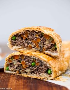 Ground Beef Wellington-the best and the most elegant meat loaf you ...