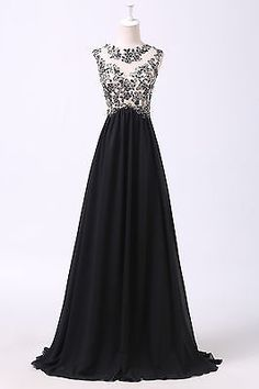2017 Chiffon Long Bridesmaid Formal Gown Ball Party Cocktail Evening Prom Dress USD Perfect wedding dresses, prom dress, party dresses, evening dresses for your special occasions. Black Prom Dresses, Prom Party Dresses, Party Gowns, Homecoming Dresses, Dress Party, Long Dresses, Wedding Dresses, Grace Karin, Cocktail Vestidos