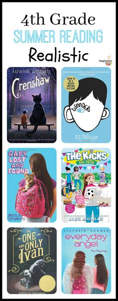 realistic fiction books for 4th grade