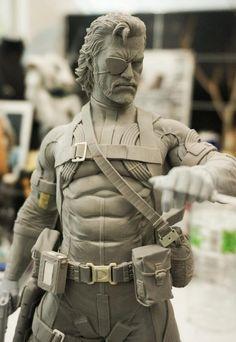 3D model check Venom Snake.