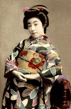 old Japanese postcard