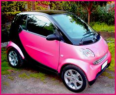 Pink Smart ☆ Girly Cars for Female Drivers
