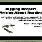 """I was looking for a way for my students to dig a little deeper into some of the texts we have studied in recent weeks during our historical fiction unit. What I decided to do could be applied to ANY fiction studies—and my students LOVED it!  Here is how this unfolded…I wanted students to refine their understanding of comparing and contrasting (BIG in the CCSS) as well as to begin to understand the idea of """"point of view"""" and seeing events in a story from different perspectives.  $4.50"""