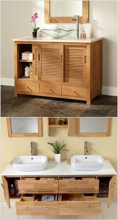 Que las divisiones del mueble de baño sean adecuadas a lo que necesitamos, para aprovechar al máximo ése espacio.