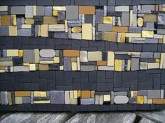 Abstract mosaic close up by Woofy and The Dude, via Flickr