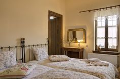 guest room Guest Room, Bed, Greece, House, Furniture, Home Decor, Greece Country, Decoration Home, Room Decor