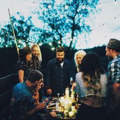 . Remember when I had friends?  and could see them often?  Have more gatherings