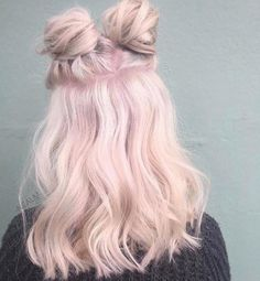 Imagem de hair, pink, and hairstyle