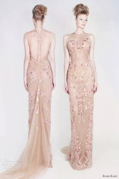 Rami Kadi's ultra gorgeous Spring 2013 collection is a veritable garden of pastel fantasy.