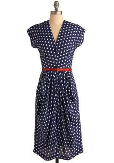 "For the last 16 years of my life i have been searching for the perfect polka dot dress. Think Gwen Stefani in ""Don't Speak"" or Drew Barrymore in ""50 First Dates"".I think I found it."