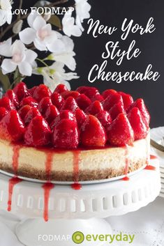 A creamy, rich New York Style Low FODMAP Cheesecake that's also gluten-free & lactose-free! With a crisp graham crust, of course. Fodmap Dessert Recipe, Fodmap Recipes, Dessert Recipes, Cookie Recipes, Gf Recipes, Graham Cracker Crust, Graham Crackers, Lime Cheesecake, Cheesecake Recipes