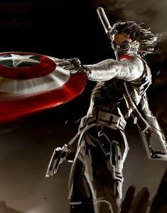 Sebastian Stan on Bucky in 'Captain America: The Winter Soldier' Marvel Art, Marvel Dc Comics, Marvel Heroes, Marvel Movies, Marvel Villains, Marvel Avengers, Nightwing, Batwoman, Bucky Barnes