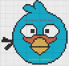 Ponto Cruz da Drayzinha: GRAFICOS ANGRY BIRDS PONTO CRUZ