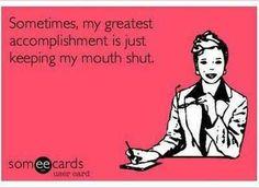It's so hard sometimes...